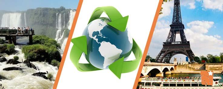 A sustentabilidade não precisa ser só em casa